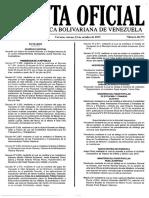 Gaceta Oficial - Productos Exentode de IVA