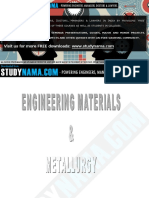 ME 2253 - Engineering Materials and Metallurgy