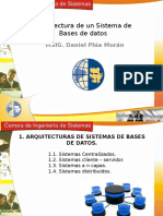 Arquitectura de Un SBD