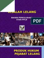Materi Risalah Dan Administrasi Lelang PPLN 2016