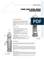 Vane & Wire Mesh Separators