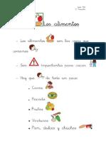 Division de Los Alimentos en Frutas...