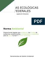 Normas Ecológicas Federales