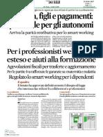 Articolo Il Sole 24 Ore_smart Working