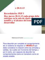 C13 CAI JUEVES 28.11.13