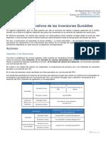 Aspectos Impositivos de Las Inversiones Bursátiles