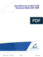 isco 2150 temporary meter data collection sop rmf final