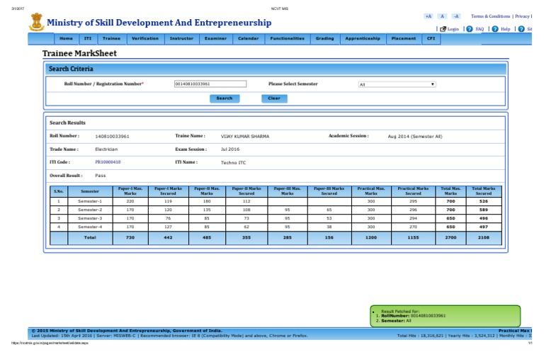 Ncvt Misvijay All | Web Software | Computing