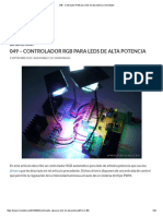 049 - Controlador RGB Para Leds de Alta Potencia _ Inventable