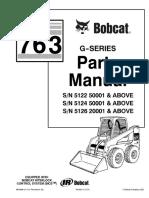 Bobcat 763g Parts Manual