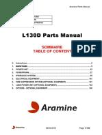 L130D 294 Aramine Parts Manual