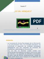Sesión 07 Uso Del Webquest