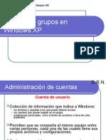 Sesión 06 Administración de Cuentas