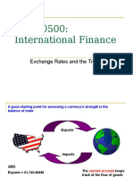 Exchange Rates and the Balance of Payments