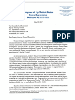 Democratic House Reps. Letter To Deputy AG Demanding Special Prosecutor