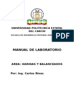 Manual de Laboratorio Harinas
