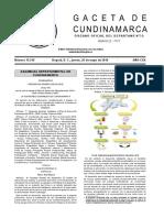 Plan de Desarrollo Cundinamarca 2016 2020