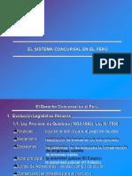 Sistema Concursal en Le Peru