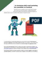 Social Gateway La Rivoluzione Dell'E-mail Marketing Per Inviare Newsletter Su Facebook