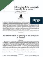 Las diversas influencias de la tecnologia-Salomon.pdf