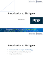 Module 1 - Introduction to Six Sigma