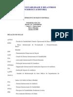 MANUAL DE CONTABILIDADE E RELATÓRIOS FINANCEIROS E AUDITORIA