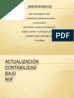 actualizacion  NIIF
