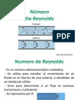 9. Numero de Reynolds (Flujo Laminar y Turbulento)