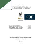 Informe 4. Cono y Arena y Penetrometro