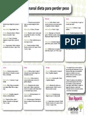 Dietas sanas para adelgazar pdf