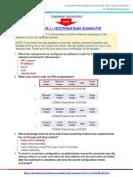 CCNA 2 Pretest Exam Answers (v5.03 + v5.1 + v6.0) – Full 100%