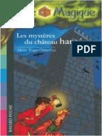 Mary Pope Osborne La cabane Magique 25 Les mysteres du chateau hante
