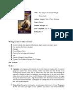 Dragons of Autumn Twlight (Book 1&2)