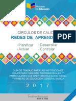 Circulos de Calidad - Cooperación Docente Ecuador