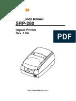 Manual SRP-280 Command English Rev 1 04