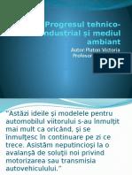 Progresul Tehnico-Industrial Și Mediul Ambiant