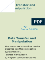 8-6 Data Transfer and Manipulation