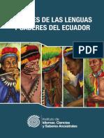 Álvarez y Montaluisa_perfiles de Las Lenguas y Saberes Del Ecuador