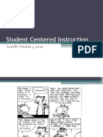 Student Centered Mathematics