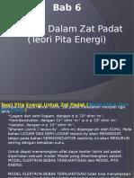 ZAT PADAT 12 Teori Pita Energi Elektron