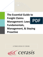 The Essential Guide to Freight Claims Management Laws Fundamentals Management Staying Proactive