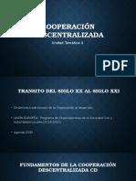 Cooperación descentralizada