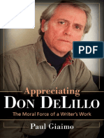 Giaimo - 2011 Appreciating Don Delillo the Moral Force of a Writer's Work
