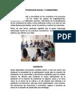 Participacion Social y Comunitaria