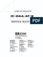 Icom IC-H16 IC-U16 Owners Manual