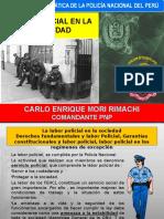 6. Labor Policial en La Sociedad