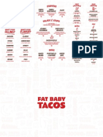 Fat Baby Tacos menu