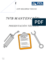 Manual de Mantenimiento Camion Minero 797B CAT