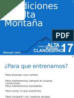 CAC_2_2017 Entrenamiento en Condiciones de Alta Montaña