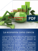 1.1. La Economía como ciencia